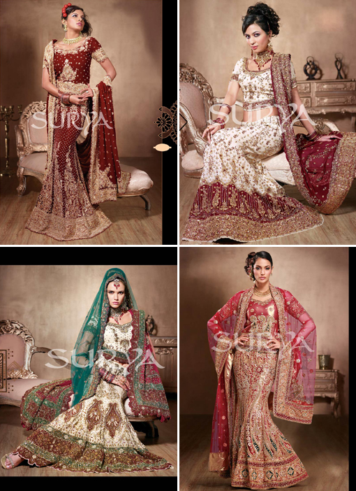 Indian wedding blog, bridal lengha 1 copy