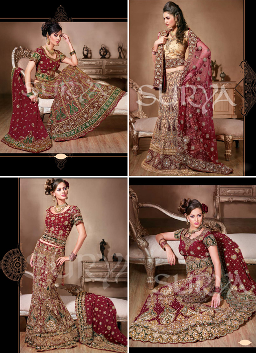 Indian wedding blog, bridal lengha 2 copy