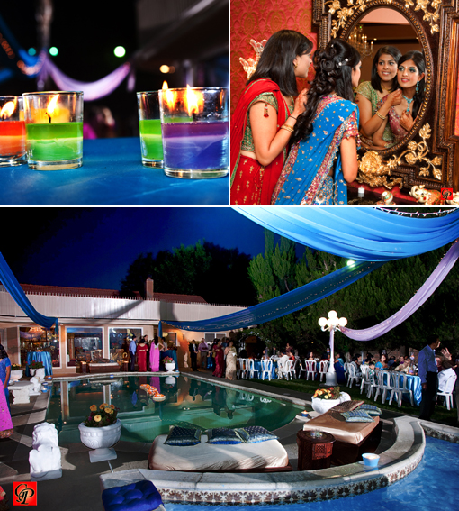 Indian wedding blogs, sangeet, bridal lengha copy