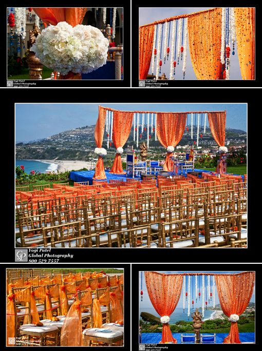 Indian wedding, indian wedding blog, outdoor mandap orang copy2