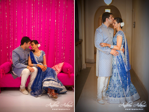 Indian wedding, indian wedding blog, blue lengha copy
