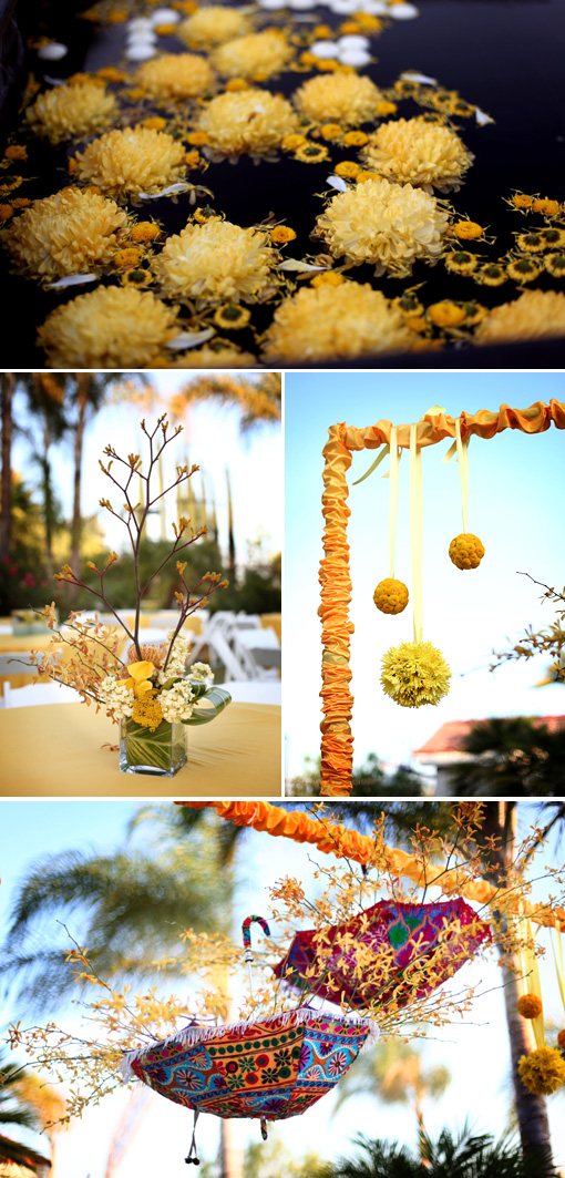 Indian wedding, indian wedding blog, yellow decor ideas copy