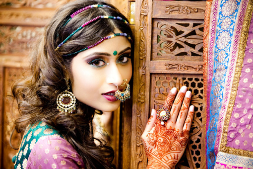 Indian bridal make up ideas, 2