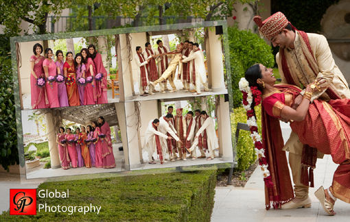 South indian wedding, indian bridal party candids 1