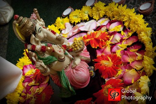 South indian wedding, ganesh, indian wedding details