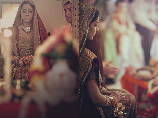 Indian wedding, hindu ceremony, bride copy