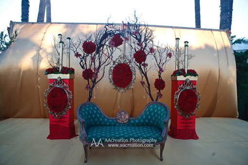 Indian wedding, decor 1