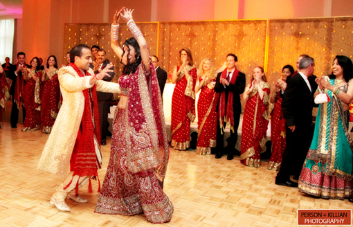 Indian wedding, indian bride and groom 2