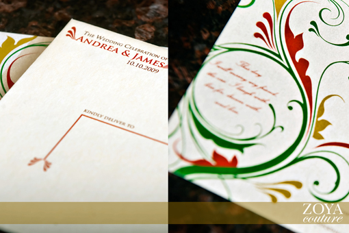 Indian wedding invitation 7