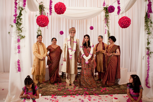 Indian wedding mandap 4