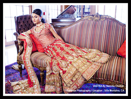 Indian wedding lengha 1