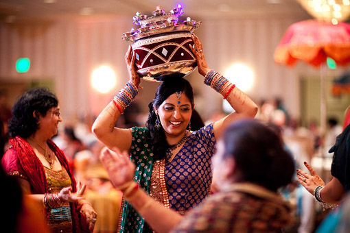 Punjabi themed sangeet 3