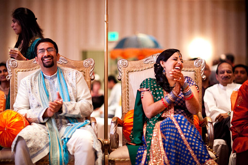 Punjabi themed sangeet 5