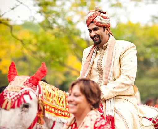 Indian wedding baraat 2