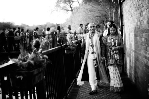 Indian bride and groom 2