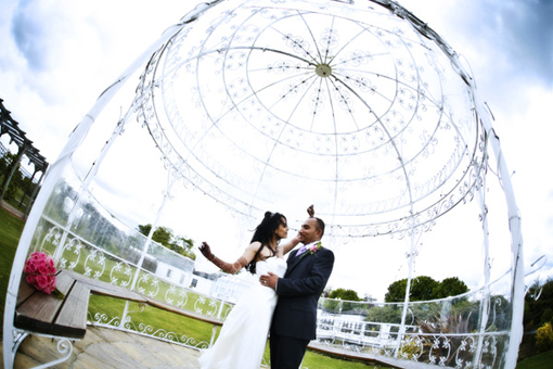Wedding gazebo, ceremony