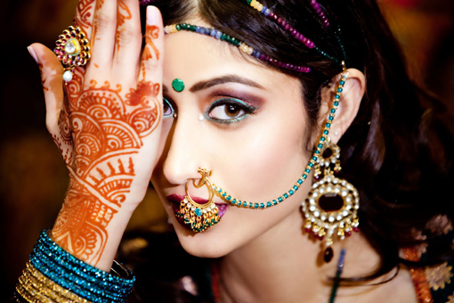 Indian bridal make up ideas, 1