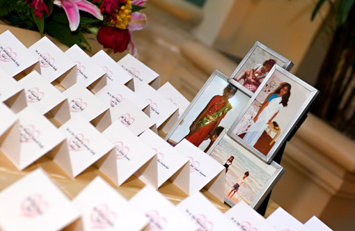 Indian wedding escort cards