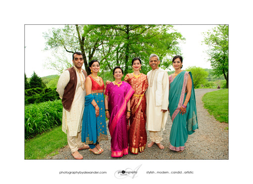 Indian fusion wedding, bride