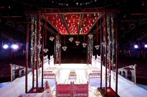 Destination indian wedding, cruise, mandap 2