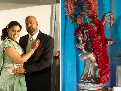 Destination indian wedding, indian bride and groom copy