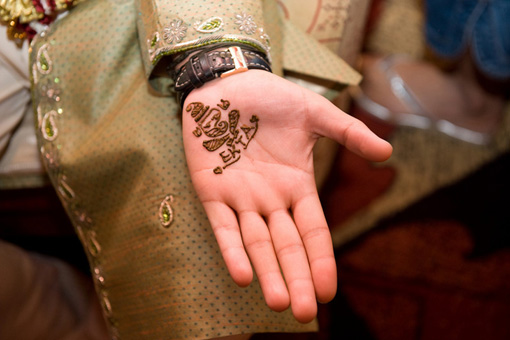 Indian wedding, mehndi 1