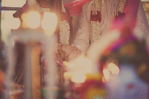 Indian wedding, hindu ceremony 3
