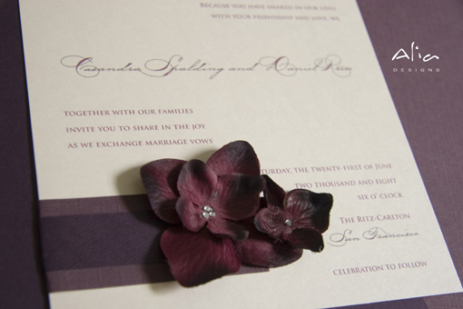 Floral detail, indian wedding, invitation