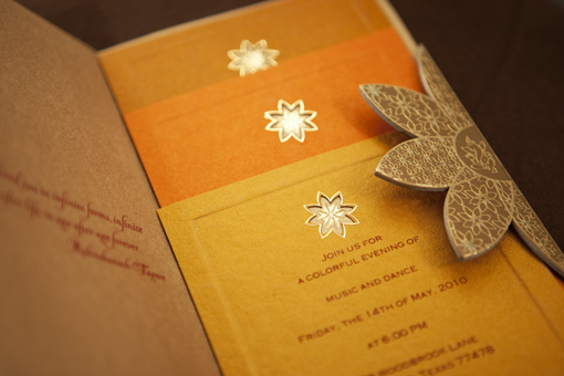 Indian wedding invitation 2