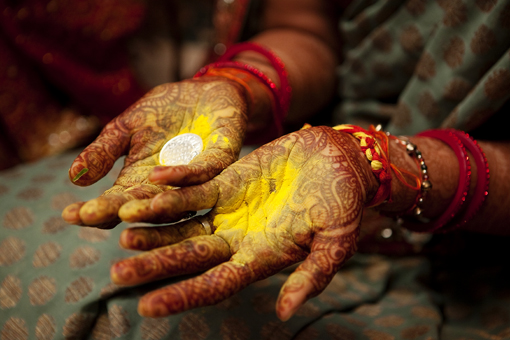 Indian wedding haldi 1