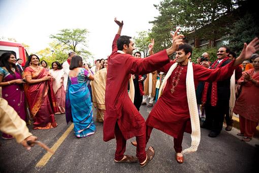 Indian wedding baraat 1