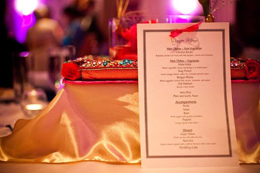 Indian wedding dessert buffet