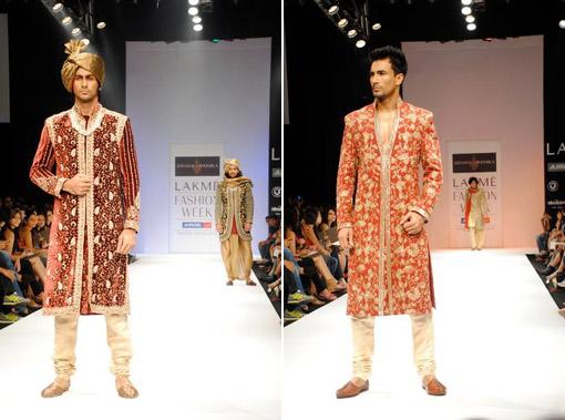 Indian wedding, groom sherwani 2 copy