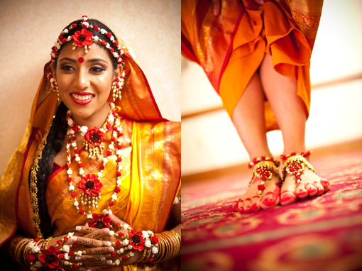 Indian wedding bride, holdu copy