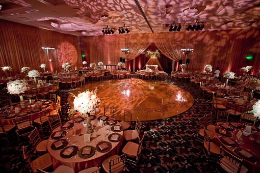 Circular dance floor 1