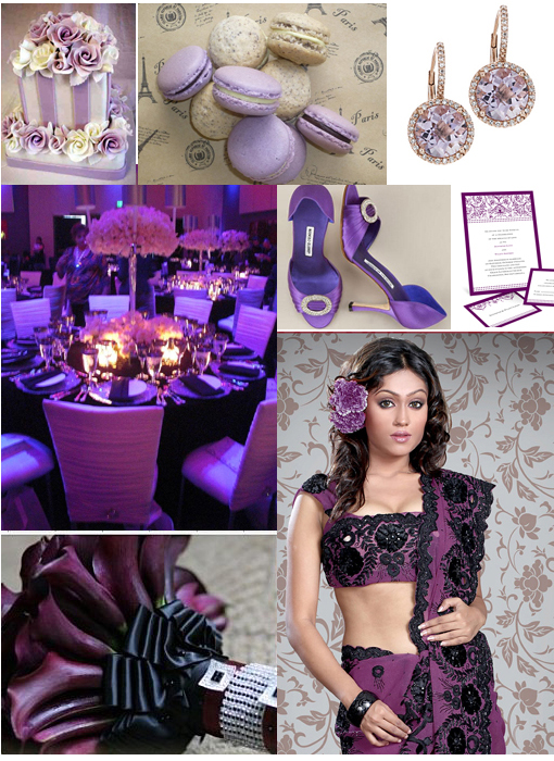 Indian wedding ideas, purple copy