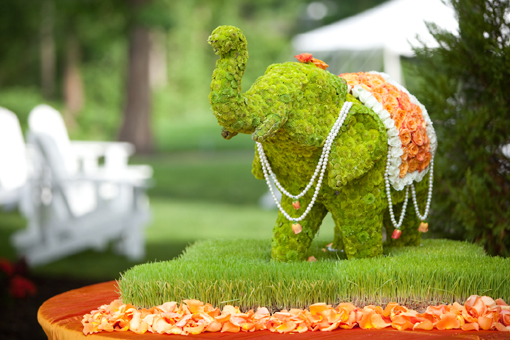 Indian-wedding-green-floral-elephant