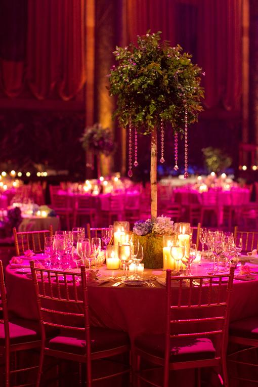 Green Amp Purple Indian Wedding Reception Maharani Weddings