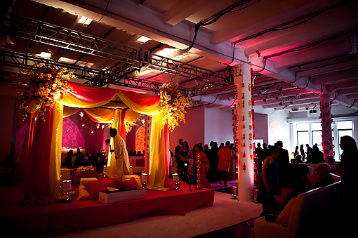 Indian-wedding-indoor-mandap