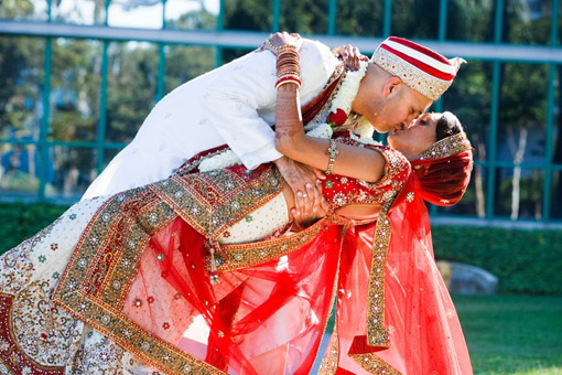 Indian-bride-red-bridal-lengha-Cheryl