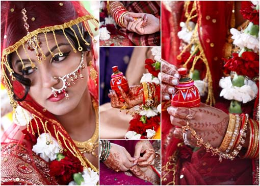 Indian-wedding-red-bridal-lengha-traditional