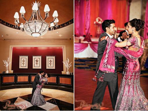 Indian wedding bride and groom copy