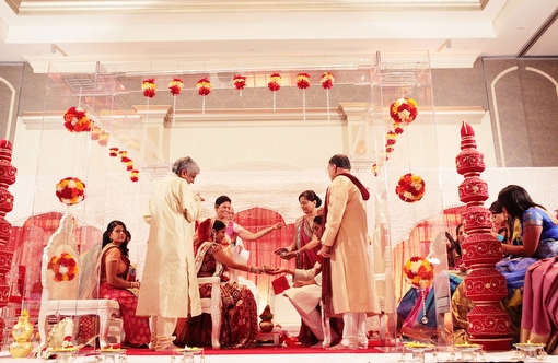 Jason keefer photography virginia indian wedding ceremony mandap