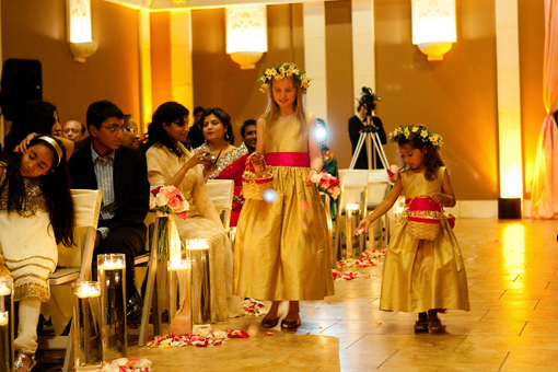 Indian-wedding-flower-girls