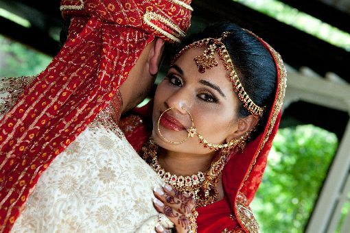 Indian-wedding-red-lengha