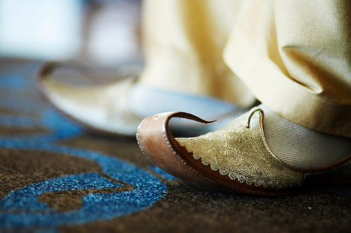 Indian-wedding-groom-shoes