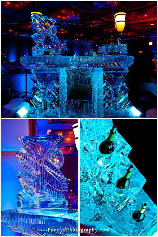 Indian-wedding-ice-themed-wedding-bar