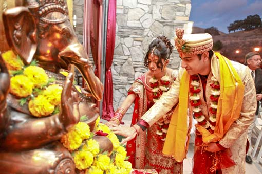 Indian-wedding-bride-and-groom