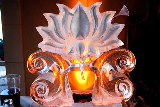 Indian-wedding-ice-scuplture