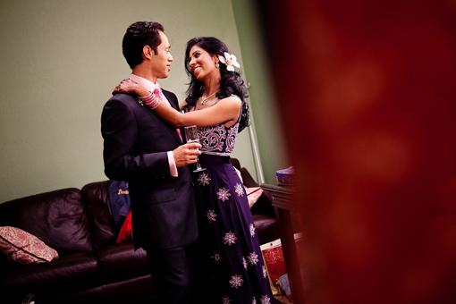 Indian wedding reception 1
